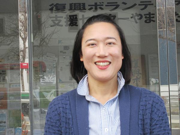 南陽市 NPO法人PONTE 代表 高 橋 陽 子 さん