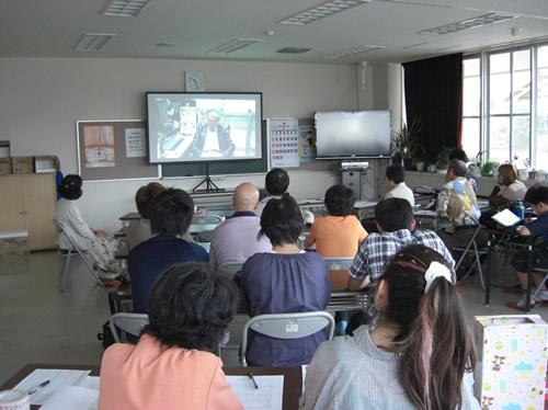 フクシマを忘れないDVD上映会 開催