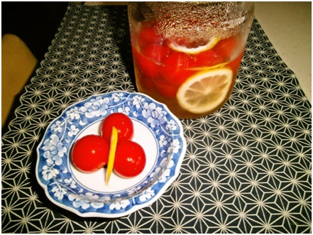 甘酢ミニトマト