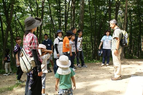 福島の子どもたちに 自然と触れ合う休日を