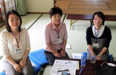 おうえんメッセージ:長井市の避難者交流会に来てね