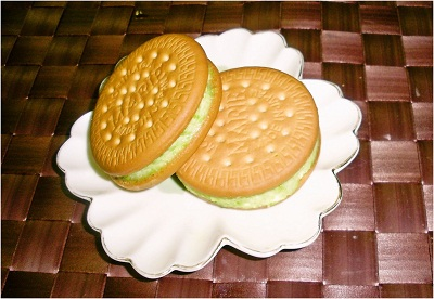 だだちゃ豆のクッキーサンド