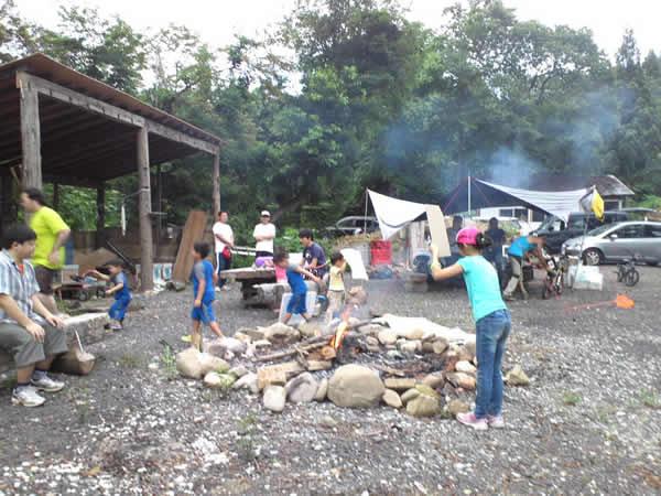 夏の冒険 サバイバルキャンプ