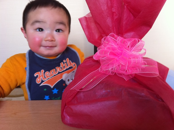無事、一歳を迎えた息子へ・・・ありがとう