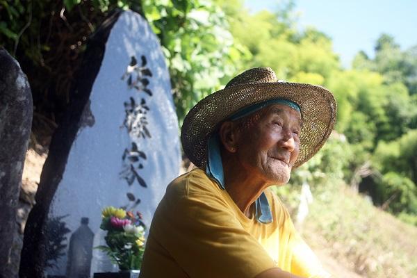 陸前高田市在住、佐藤直志さんの震災後を描いたドキュメンタリー映画「先祖になる」