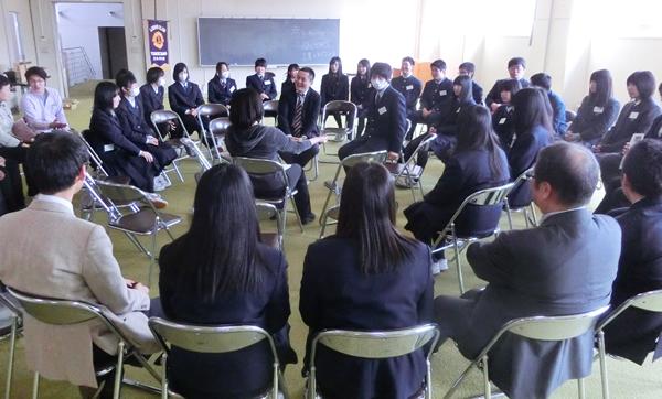 山形と福島の高校生が語り合う 震災復興高校生サミット