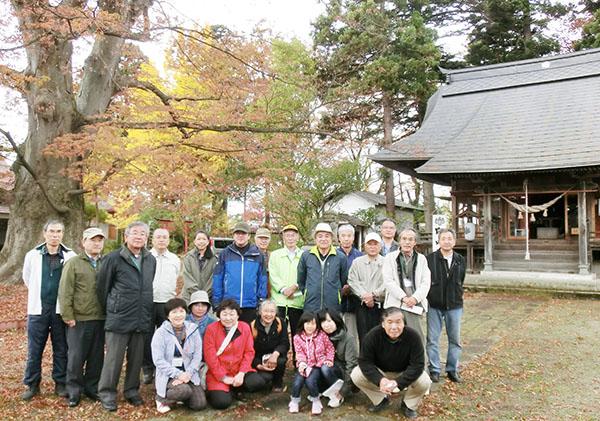 紅葉を巡る 秋の交流会 ~長井市社会福祉協議会~