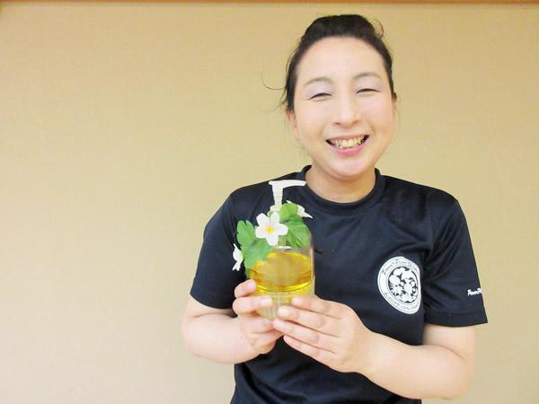 サロン『ゆるり~と』 代表 小国町 佐藤 妙子 さん
