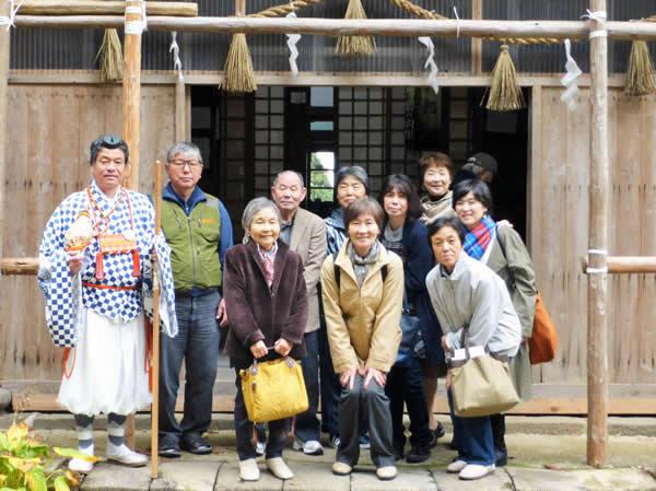 鶴岡にこにこ交流塾 出羽三山神社の精進料理を味わおう