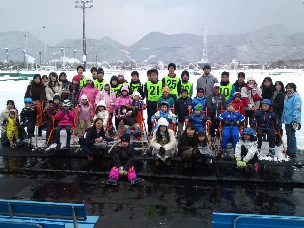 スキー&スケート 冬の遊びを満喫!