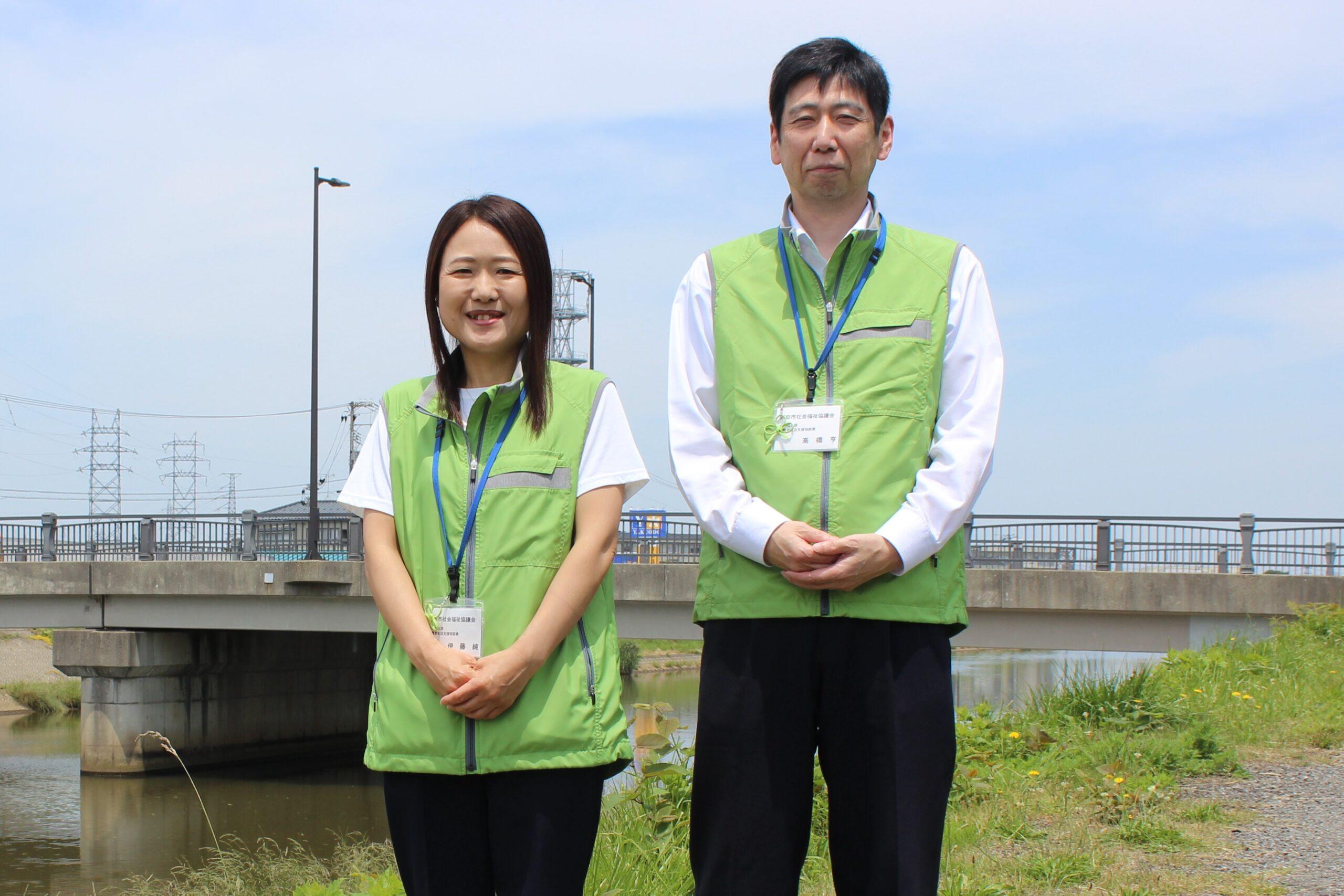 避難者生活支援相談員 高橋 亨さん/伊藤 純さん